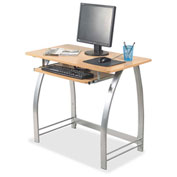 Lorell® Maple Laminate Computer Desk - Maple