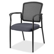 Lorell® Breathable Mesh Guest Chair - Chambray