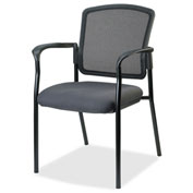 Lorell® Breathable Mesh Guest Chair - Gray