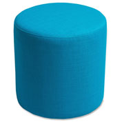 Lorell® Fabric Cylinder Chair - Cyan