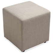 Lorell® Fabric Cube Chair - Slate
