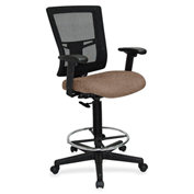 Lorell® Breathable Mesh Drafting Stool - Malted