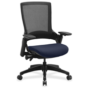 Lorell® Executive Mesh Back Chair - Periwinkle Blue