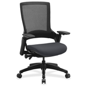 Lorell® Executive Mesh Back Chair - Chambray