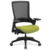 Lorell® Executive Mesh Back Chair - Citronella