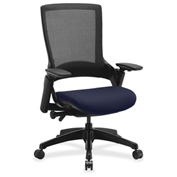 Lorell® Executive Mesh Back Chair - Blueberry