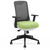 Lorell® Mesh Back Multifunction Chair - Green