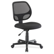 Lorell® Multi-Task Chair with Mesh Back - Black