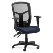 Lorell® 86000 Series Executive Mesh Back Chair - Periwinkle Blue