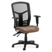 Lorell® 86000 Series Executive Mesh Back Chair - Malted