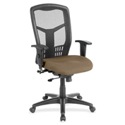 Lorell® High-Back Mesh Executive Chair - Roulette