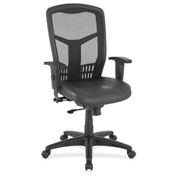 Lorell® Executive High-Back Swivel Chair - Black