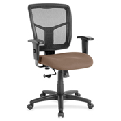Lorell® Managerial Mesh Mid-Back Chair - Malted