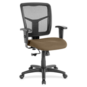 Lorell® Managerial Mesh Mid-Back Chair - Roulette