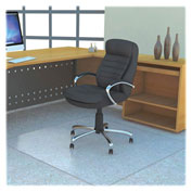 "Lorell® Polycarbonate Chair Mat - 60"" x 60"" Clear"