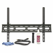 "Lorell® Large Tilt Mount For 32"" - 60"" Flat Panel Screens, 77 lb. Capacity, Black"