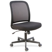 Lorell® SOHO Mesh Back Task Chair with Arms - Black
