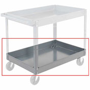 "Nexel-Tray 36 x 24 - 3"" Deep for Steel Shelf Carts & Trucks"