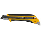 OLFA® 1072198 Fiberglass Rubber Grip Utility Knife - Black/Yellow