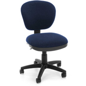 OFM Computer Chair - Fabric - Mid Back - Blue
