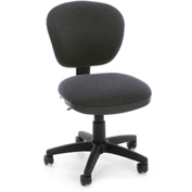 OFM Computer Chair - Fabric - Mid Back - Gray