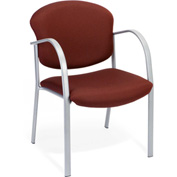 OFM Armchair - Fabric - Mid Back - Burgundy - Danbelle Series