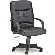 OFM Office Chair - Synthetic Leather - Mid Back - Black - Encore Series