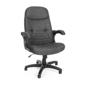 OFM Executive Conference Chair - Fabric - High Back - Gray
