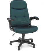 OFM Executive Conference Chair - Fabric - High Back - Teal