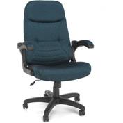 OFM Executive Conference Chair - Fabric - High Back - Navy