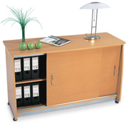 OFM Sliding Door Credenza - Maple