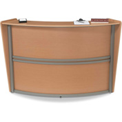 Marque Single Reception Station - Maple
