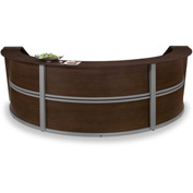 Marque Triple Reception Station - Walnut