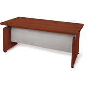"Milano Series - Designer Desk 36""Dx72""W - Cherry"