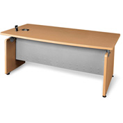 "Milano Series - Designer Desk 36""Dx72""W - Maple"