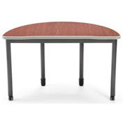 "OFM Semi-Circle Desk - 48"" Diameter - Cherry - Mesa Series"
