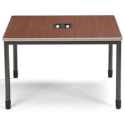 "Mesa Series - Terminal/Workstation 48""Wx48""D - Cherry"