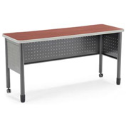 "OFM Training Table - 20""D x 59""W - Cherry - Mesa Series"