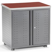 "Mesa Series - Utility/Fax/Copy Table 30""W x 24""D - Cherry"