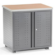 "OFM Utility/Fax/Copy Table - 28""Wx20""D - Maple - Mesa Series"