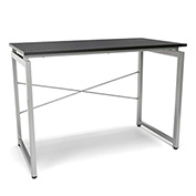 OFM Floating Top Office Desk - Espresso - Essentials Series