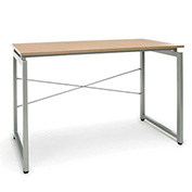 OFM Floating Top Office Desk - Harvest - Essentials Series
