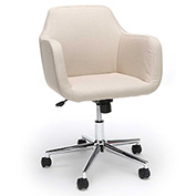 Essentials by OFM ESS-2085 Upholstered Home Office Desk Chair, Tan