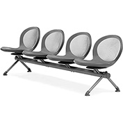 NET Series Beam with 4 Seats - Gray