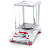 "Ohaus AX423/E Adventurer Precision Balance With Manual Calibration 420g x 0.001g 5-1/8"" Diameter"
