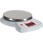 "Ohaus CS5,000 AM Portable Digital Scale 5000g x 1g 5-3/4"" x 5-1/2"" Platform"