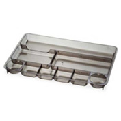 Officemate Drawer Tray with 9 Compartments Smoke