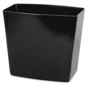 Officemate Waste Container 20 Quart Capacity Black