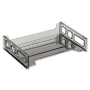 "Officemate®Side Loading Stackable Desk Tray 13-3/16"" x 9"" x 2-3/4"" Smoke"