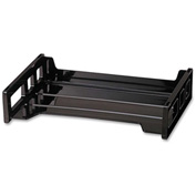 "Officemate®Side Loading Stackable Desk Tray 13-3/16"" x 9"" x 2-3/4"" Black"